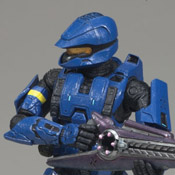 H3 S3 EXC MMK MOC Spartan Soldier Scout (Blue) (WAL-EXC)
