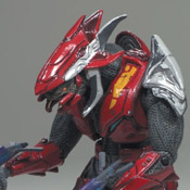 H3 S3 EXC MMK MOC Elite Combat (Red/Silver) (WAL/TRU-EXC)