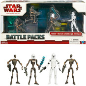 SW TCW Battle Packs<br>(2009 Packaging)