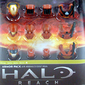 HR S4 EXC MOC Air Assualt Armor Pack (Rust) (TRU-EXC)