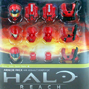 HR S4 EXC MOC Air Assualt Armor Pack (Team Red) (TAR-EXC)