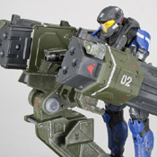 HR S3 VUP MISB Rocket Launcher<br>( with Spartan JFO )<br>Vehicle Upgrade Pack