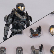 HR S4 BAP MISB Spartan Air Assault<br>( ODST / EVA / CQC ) (Steel)<br>Armor Pack
