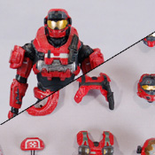 HR S4 BAP MISB Spartan Grenadier<br>( Commando / Scout / EVA ) (Red)<br>Armor Pack