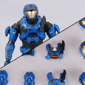 HR S4 BAP MISB Spartan Air Assault<br>( ODST / EVA / CQC ) (Blue)<br>Armor Pack