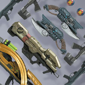 H3 S7 EXC MOC Halo Wars Weapons Pack (SHR-EXC)