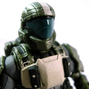 "H3 S6 CMPN MOC ODST Soldier<br>""The Rookie"" (Medal Edition)<br>(Tan Variant)"