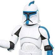 SW TCW EXC MOC Clone Trooper (501st Legion) (Walmart Exclusive)