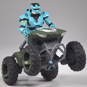 H3 DLX BXS Mongoose<br>with Spartan EOD (Cyan)