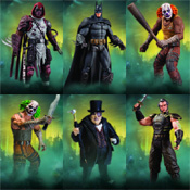 Batman Arkham City Series 3 Figures<br>by DC Direct