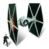 SW TLC EXCL MISB Ecliptic Evader TIE Fighter (w/ Hobbie Klivian) (Preview Exclusive)