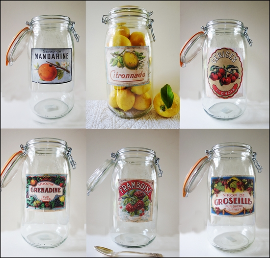 Provencal Canning Jars