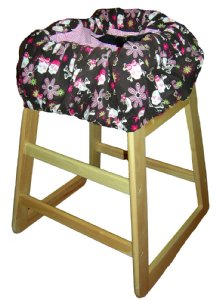 Sweet Skull Shopping Cart / High Chair Cover
