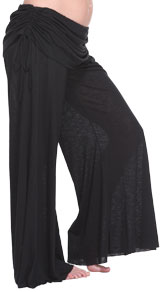 BDA Maternity Pants in Black
