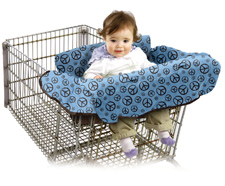 Baby Ease Wee BE Organic Blue Clean Shopper