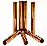 8.79mm (.346) X 2.500 K-Line Bronze Bullet Guide Liners - 100