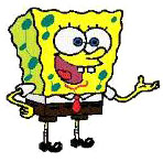 41 SPONGE BOB MACHINE EMBROIDERY DESIGNS