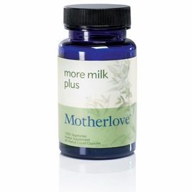 Motherlove More Milk Plus Vegetarian Capsules, 60 Count