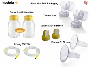 Medela XL 30mm Breast Pump Parts Kit - Pump In Style Advanced