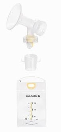Medela Pump & Save Breastmilk Storage Bags - 50 ct w/ Adapters