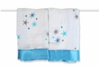 aden + anais Aurelia - Blue Stars Issie Security Blanket, 2pk