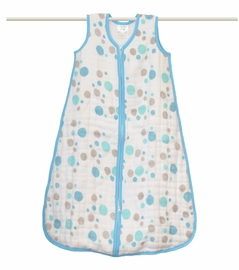 aden + anais Star Bright - Blue Spots Cozy Sleeping Bag