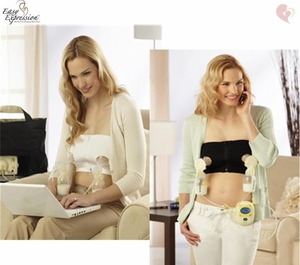 Medela Easy Expression Bustier for Hands Free Pumping