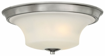 Hinkley 4631BN Brantley Transitional Flush Mount Brushed Nickel Ceiling Light Fixture