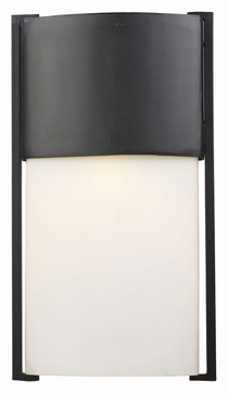 ELK 42287/1 Glendon Modern Matte Black Small Exterior Wall Light Fixture