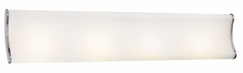 Access 62214 Neon Contemporary 4 Light 40 inches wide Halogen Vanity Fixture