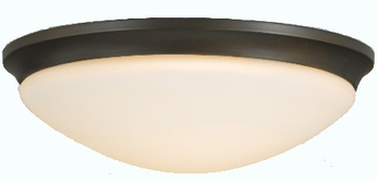 Feiss FM273 Barrington 3 Light 16.5 inch Flushmount Ceiling Fixture