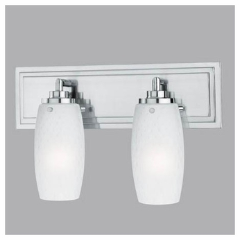 Thomas M162278 Vado Contemporary 2-Lamp Vanity Light