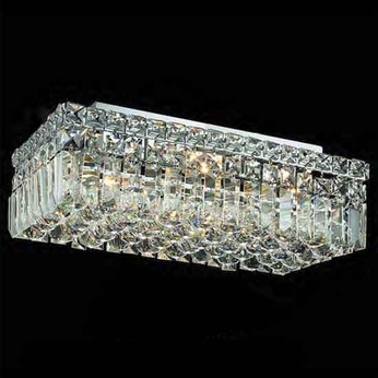 Worldwide 33528 Worldwide 16  4-light Semi-Flush Ceiling Light