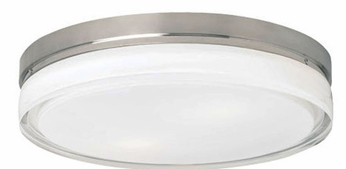 Tech Cirque Flush-Mount Fluorescent Ceiling Light