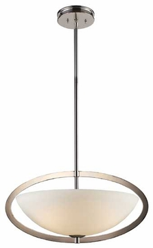 ELK 10157/3 Dione Modern Small Pendant Light/Semi-Flush Ceiling Light