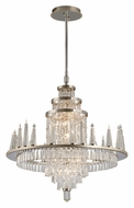 Corbett 170-010 Illusion Silver Leaf Finish Inch Diameter Large Chandelier Lighting