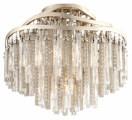 Corbett 176-34 Chimera Semi Flush Mount 18 Inch Diameter Ceiling Lamp