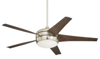 Emerson Ceiling Fans CF955BS Midway EcoMotor Contemporary Downlight Ceiling Fan in Brushed Steel