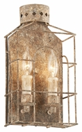 Troy B3502 Jasper 2 Candle Coastal Rust Finish Transitional Lighting Sconce