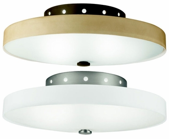 Kichler 10413 Adao Circle Cut Semi Flush 15 Inch Long Ceiling Lighting Fixture