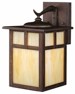 Kichler 9651CV Alameda Canyon View Finish 11 Inch Tall Craftsman Outdoor Wall Lighting