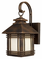 ELK 42105/1 Blackwell Hazelnut Bronze 12 Inch Tall Craftsman Outdoor Lighting Sconce