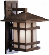 Kichler 9132AGZ Cross Creek 22 Inch Outdoor Wall Lantern