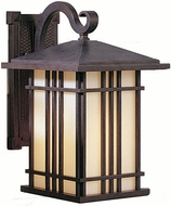 Feiss OL1801-WP Prairie House 1-light 13.75 inch Outside Wall Light in Weathered Patina