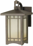Feiss OL5300-CB August Moon 1-light 10.5 inch Exterior Wall Light in Corinthian Bronze