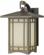 Feiss OL5302-CB August Moon 1-light 14 inch Exterior Wall Lamp in Corinthian Bronze