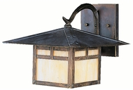 Kichler 9724CV La Mesa Canyon View 8 Inch Tall Small Exterior Wall Light Fixture