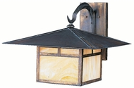 Kichler 9726CV La Mesa Large Craftsman 14 Inch Tall Outdoor Light Sconce - Canyon View Finish