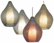 LBL HS689 Relic No. 2 Contemporary Glass Pendant Lighting with Opal Diffuser