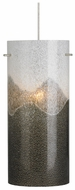 LBL HS616GO Dahling Glass Medium Cylinder Drum Contemporary Hanging Light